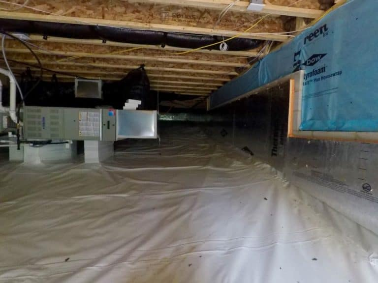 Professional sealed crawlspace company