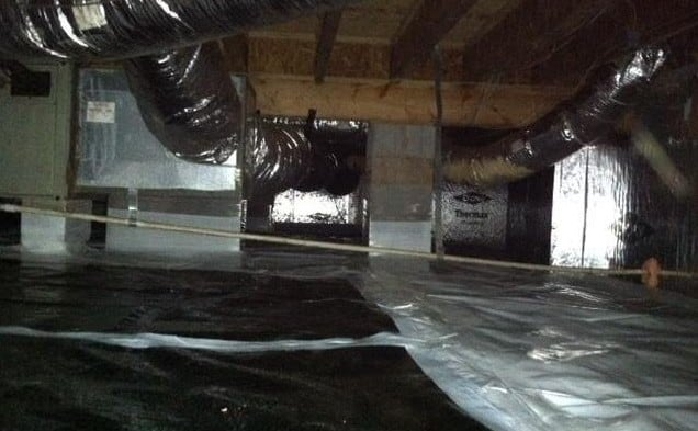 Sealed Crawl Space System