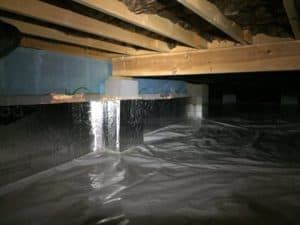 Sealing your crawlspace professionally