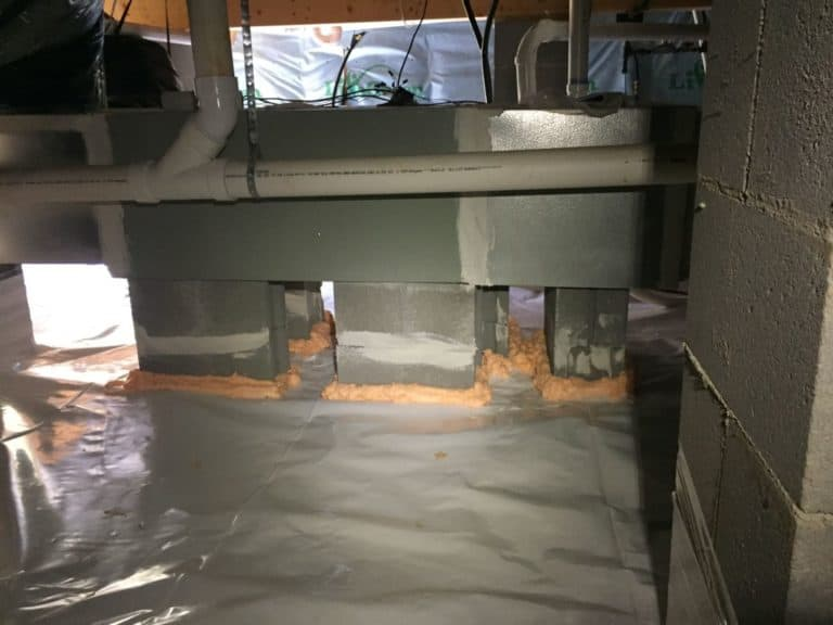sealed system crawlspace