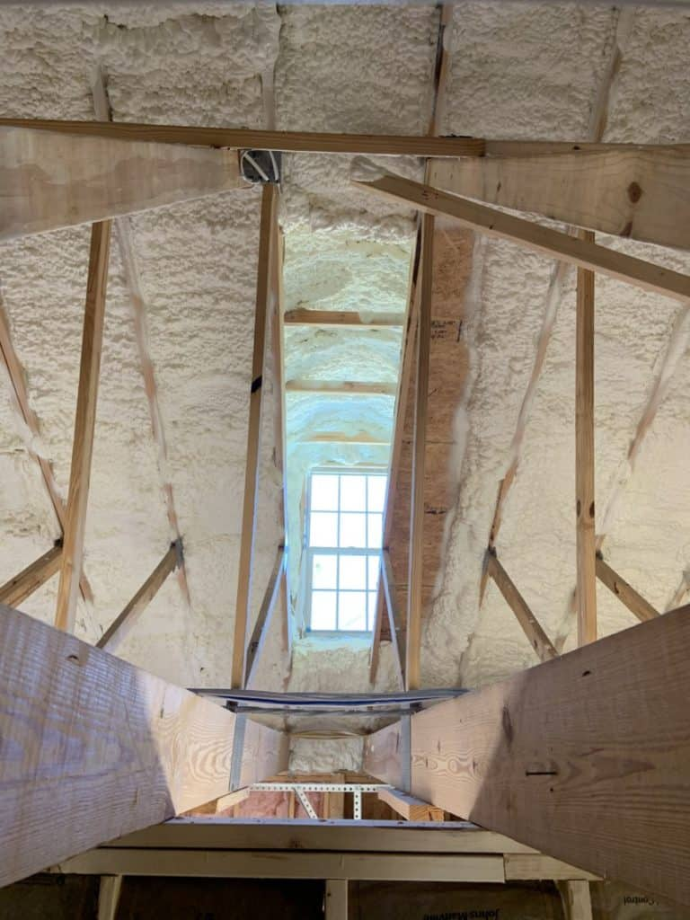 Spray foam insulation company